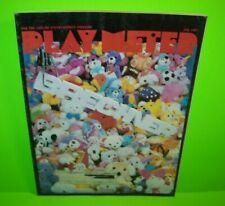 Play Meter Magazine July 1987 Video Arcade Games Pinball Machines Atari Sega WMS