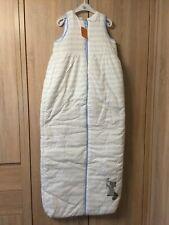 Winter Schlafsack 130 cm NEU Pusblu von DM wattiert mit Waschbär