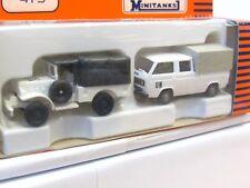 Roco Minitanks 473 Dogde + VW UN - Set OVP (TR6076)