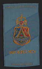 Improved Order of Red Men - 1910's Tobacco Egyptienne Luxury Cigarettes Silk S17