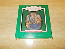 Hallmark Art Masterpiece Series Lorenzo Di Cridi Madonna and Child & St John