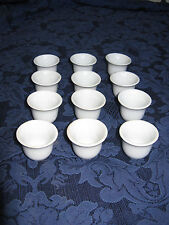 TINY CHINESE PORCELAIN CUPS  – SET OF 12