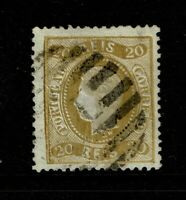 Portugal SC# 39, Used, very shallow, sm top thin, perf 12.5 - S10051