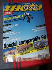 86 Magazine Moto verte 284 YAMAHA YZF 400 YZ 250 HONDA CR KTM SX YAMAHA 250 WR