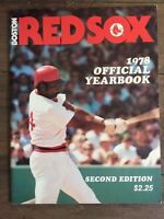 Boston Red Sox 1978 Vintage MLB yearbook - Jim Rice