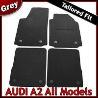 Audi A2 2000-2005 Tailored Fitted Carpet Car Floor Mats GREY