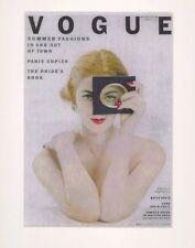 Vogue Fashion Posters Fashion, Rive Gauche Dali Parkinson Penn Burden Lepke