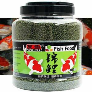 Hot Pond Fish Food Pellets Medium Floating Goldfish Pellets Vibrance Color Enhan