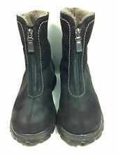 Pajar Women's Zig Zag Front-Zip Boot,Black Womens Size 7 US.