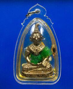 Antique oil NGANG Khmer Statue Buddha Thai Amulet Charm Good Sex Love Pendant