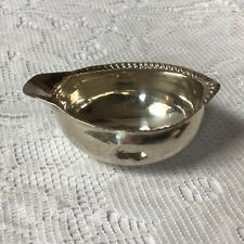 More details for 1774 john scofield georgian solid silver toddy ladle bowl, no handle. at fault