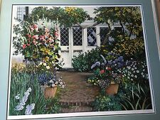 "Susan Rios Limited Edition Serigraph, ""Plant Shed"" Signed & Numbered, Framed"