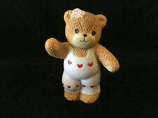 Lucy & Me Pink Hearts Bear Lucy Rigg Enesco 1984