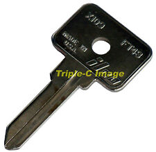 Alfa Romeo Spider - Graduate, Fiat, Lamborghini FT43, X109 ignition key