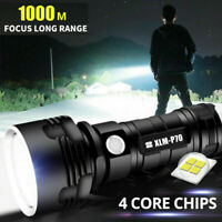 P70 High Power Flashlight LED Rechargeable Torch Headlamp Inspection Lamp Torch