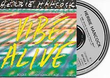 HERBIE HANCOCK - Vibe alive CD SINGLE 3TR Europe CARDSLEEVE 1988