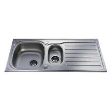 CDA una y media de cocina de acero inoxidable Bowl Sink-KA22SS