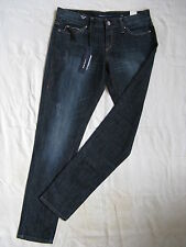 Miss Sixty Blue Jeans Stretch Denim W31/L34 x-low waist regular fit tapered leg