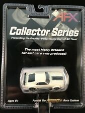 AFX MEGA G PLUS FORD MUSTANG MACH 1  TOMY AURORA WHITE COLLECTOR SERIES