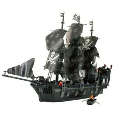 NEW KAZI 1184pcs Pirates of the Caribbean Black Pearl Ship Large Model Blocks