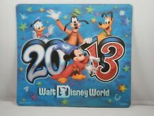Walt Disney World 2013 Lenticular Mousepad Mickey Mouse Pad Donald Computer Mat