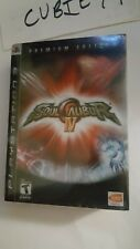 Soul Calibur IV 4 Premium Edition (Sony PlayStation 3, 2008) PS3 New Metal Case