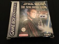 Nintendo Game Boy Advance Video Game * STAR WARS THE NEW DROID ARMY * Complete