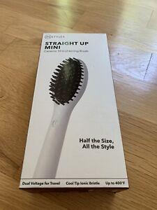 NEW InStyler STRAIGHT UP Ceramic Hair Straightening Brush With Instant Heat