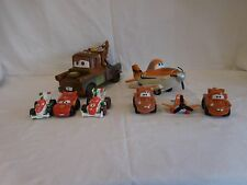 Disney Pixar Cars Lot Vehicles Lighting McQueen Tow Mater+ Airplane + More