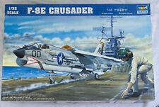 Trumpeter F8E Crusader Fighter Aircraft - US NAVY Model Kit - #02272 - 1/32