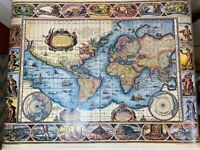 VTG Terrarum Orbis Tabula Map by W. Blaeu 1974 Scandecor Printed in Germany*Art!