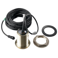 Garmin B60-20 Degree Bronze Thru-Hull Transducer 6-Pin 600W Rms with Depth/Temp