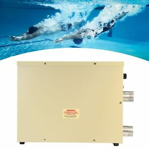 5.5KW Thermostat Electric Water Heater for Swimming Pool SPA Hot Tub Accessories