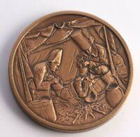 "Medallic Art Co Bronze 3"" Medal Medallion - Davis & Geck Limited Edition Series"