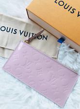 Louis Vuitton Vernis Pochette Felicie Zip Pouch Accessory Rose Ballerine Pink