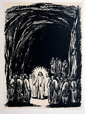 Gustav Adolf Schaffer 1881-1937: Der auferstandene Christus vor den Jüngern 1920