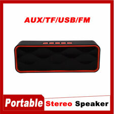 Subwoofer Mini Speakers Bluetooth Wireless Outdoor Stereo Bass Usb/Tf/Aux/Radio