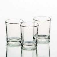 Eastland Votive Candle Holders Clear Glass Set of 72 Perfect Wedding Event Decor