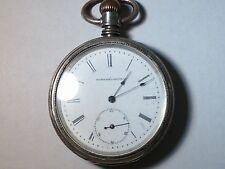 Elgin Pocket watch, 16S, 1883, beautiful, working, needs cleaning