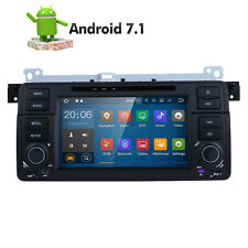 Android 7.1 System for BMW E46 318 320 325 Car DVD Player GPS 1DIN Radio Stereo