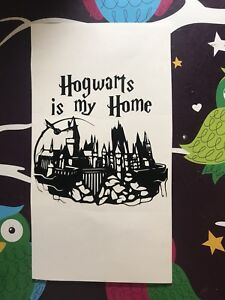 Hogwarts Is My Home Harry Potter Inspired Vinyl Decal