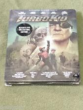 Free*Postage New Turbo Kid Blu Ray + Dvd Steelbook Region A !