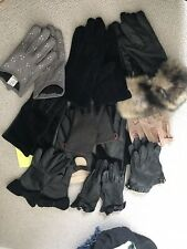 Job Lot Ladies Leather Gloves M/L