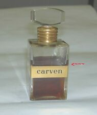 Vintage France CARVEN ROBE D'UN SOIR 1 OZ / 30 ML Eau De Parfum Perfume 60% Left