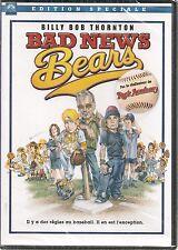 DVD ZONE 2--BAD NEWS BEARS--BOB THORNTON/LINKLATER/KINNEAR/GAY HARDEN--NEUF