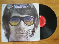 GARY PUCKETT & THE UNION GAP signed GREATEST HITS Record / Album COA