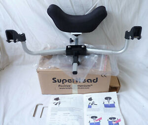 SUPER HEAD - Headrest for conventional (Folding) wheelchairs fixes from handles