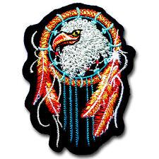 EAGLE Dream Catcher Indian Patch Iron On Vest Jacket Harley Biker Rider Tattoo
