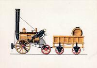 Ak Unread Locomotive Rocket from R. Stephenson 1829 (G3436)