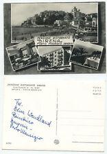 08076-Porto Maurizio Imperia-PENSIONE RISTORANTE SIRENA-VERA FOTO-vecchia AK